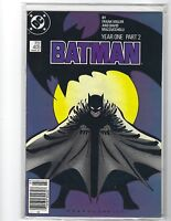 Batman #405 Year One (DC 1987)  FN/VF 7.0   CHAPTER 2  FRANK MILLER  FIRST PRINT