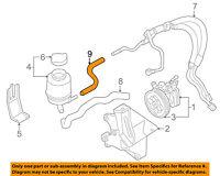 SUBARU OEM 93-02 Impreza-Power Steering-Pressure Hose Line Tube 34153AA041