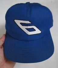 VINTAGE MARTIN #6 NASCAR RACING WINSTON SNAPBACK HAT CAP, OSFA, MADE IN USA, EXC