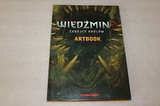 ARTBOOK from WITCHER 2: Assassins of Kings - PC COLLECTOR'S POLISH EDITION,