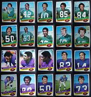 1977 Holsum Bread Football Cards You U Pick Green Bay Packers Minnesota Vikings