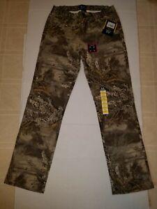 REALTREE MAX-1 XT 5 Pocket Pants Camo Camouflage Hunting Pants Size S (28-30)