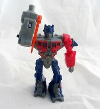 TRANSFORMERS OPTIMUS PRIME 2010 McDonald's Robot Toy Action Figure Figurine