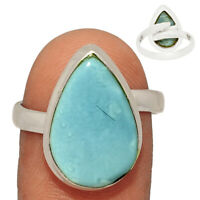 Sutable Ring - Owyhee Opal 925 Sterling Silver Ring Jewelry s.9 AR200416 XGB
