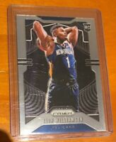 2019-20 PANINI PRIZM ZION WILLIAMSON ROOKIE RC #248 🔥 PELICANS ROY? PSA? 💎
