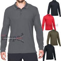 Under Armour UA Tactical Performance Men's Long Sleeve Polo Golf Shirt 1279637