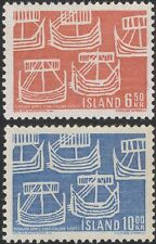 Iceland 1969 Northern Countries Union/Nordic/Viking Ships/Longboats 2v (n45309d)