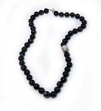 Simon Sebbag Black Onyx Necklace Sterling Silver Bead NB120/BO24