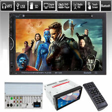 "7"" 2Din Car Player HD Multimedia Bluetooth Touch Screen Radio DVD MP3 MP5 Player"