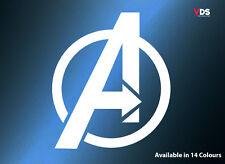 Marvel Los Vengadores Logo Pared Arte Vinilo Autoadhesivo Con Ventana De Coche Portátil