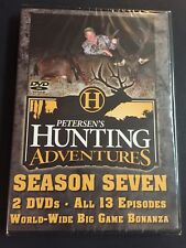 Petersen's Hunting Adventures Season Seven 13 Episodes New Factory Sealed Dvd