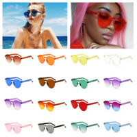 Fashion Women Men Retro Clear Sunglasses Frame Eyewear Outdoor Summer Glasses
