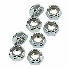 Roller Derby Speed Roller Skates Skateboards Nyloc Axle Nut Nuts 8mm - Set of 8