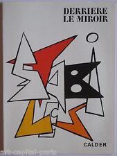 CALDER LITHOGRAPHIE ORIGINALE DERRIÈRE LE MIROIR 1963 DLM N°141 LITHOGRAPH