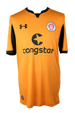 under armour FC St. Pauli Herren Torwart Trikot SP331836 Shirt Orange Gr. S