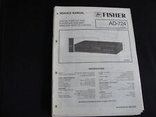 Original Service Manual Fisher AD-724