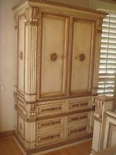 Kreiss Designer Furniture Napolleon Style Armoire in excellent condition.