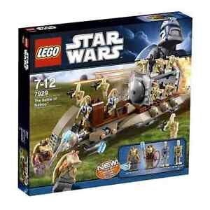 Lego Star Wars 7929 The Battle of Naboo Jar Jar Binks Gungan Droids Xmas NISB!