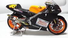 Minichamps Valentino Rossi 1/12 Model Moto Diecast Honda 500cc Test Bikes 2000