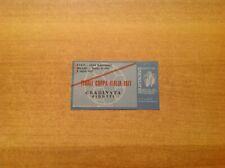 Biglietto Ticket Finale Coppa Italia Milan - Internazionale 03/07/1977