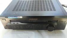 Sony FM Stereo AM/FM AV Receiver 100W STR-DE345 5.1 Multi Channel NO REMOTE
