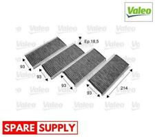 FILTER, INTERIOR AIR FOR BMW VALEO 715712 CLIMFILTER PROTECT
