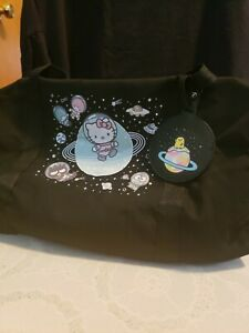 Hello Kitty Loot Crate Cosmic Out Of This World Duffel Bag and Luggage Tag