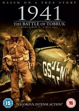 1941 - The Battle Of Tobruk (DVD) (WAR) (NEW AND SEALED) (REGION 2) (FREE POST)