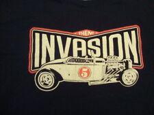 Invasion Car Show THEM club Dallas Deep Ellum Tattoo hot rat rod rodz T Shirt M