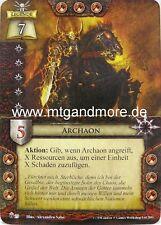 Warhammer Invasion - 1x Archaon  #029