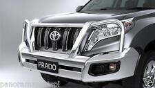 Toyota Prado Polished Alloy Bullbar GX GXL GENUINE NEW