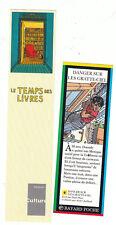 JUILLARD 2 marque-pages. Le Temps des Livres et Bayard