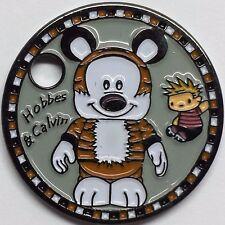 Calvin & Hobbes Vinylmation Disney Bill Watterson Pathtag Coin Geocoin Geocache