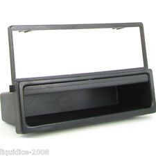 CT24MZ02 MAZDA MX5 2000 to 2005 BLACK SINGLE DIN FASCIA ADAPTER PANEL PLATE