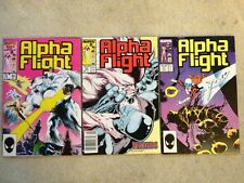 Alpha Flight #44, 46 & 47 *Death of Doug Thompson*