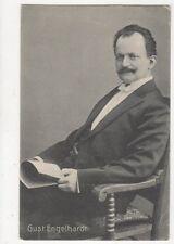 Gust Engelhardt Actor 1908 Postcard 374a