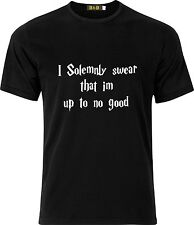 I SOLEMNLY SWEAR THAT IM UP TO NO GOOD HARRY POTTER  COTTON CHILDS T SHIRT