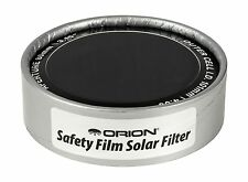 Orion 7785 4.00-Inch ID E-Series Safety Film Solar Filter Free Shipping