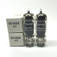 Matched Pair  6CH6  CV4055  EL821  NOS  Brimar  UK Valve Tubes