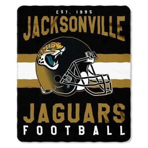 "Jacksonville Jaguars 50"" x 60"" Singular Fleece Throw Blanket by Northwest"