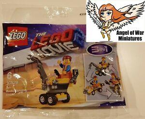 LEGO NEW Polybag 30529 Mini Master-Building Emmet Lego Movie 2 (2019)
