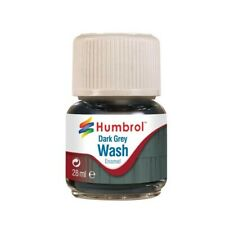 Humbrol Enamel Wash Dark Grey