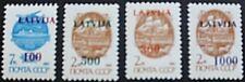 Latvia transport stamps, 1991, Boat, horse & cart, ship, SG ref: 332-335, MNH