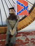 Primitive Handmade Confederate Civil War Soldier Doll