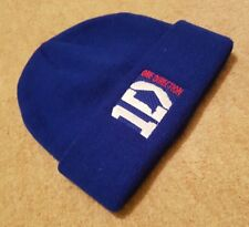Official Licensed One Direction, 1D,  Blue Beanie Bobble Hat One Size.