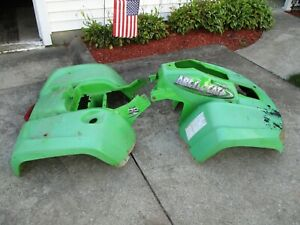 2006 Arctic Cat 500 FIS Auto 4x4 Front Rear Fender Body Plastic *Ships Freight*