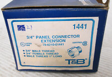 """(23) Thomas & Betts 1441 Panel Connector Extension 3/4"""""""