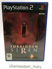 FORBIDDEN SIREN - PS2 - GIOCO USATO PERFETTAMENTE FUNZIONANTE PAL UK VERSION