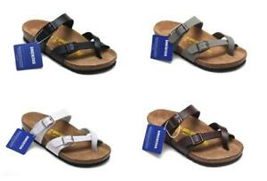 Birkenstock Sandals-Traditional Mayari Birko-Flor Sandals Men's Women's Shoes A+