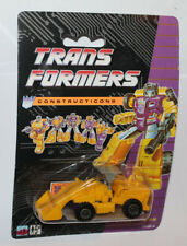 1991 Hasbro Transformers Constructicons G2 European UK Recolor Scrapper  MOC